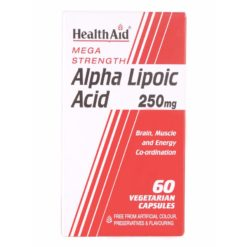 HealthAid Alpha Lipoic Acid 250mg ( Mega Strength)