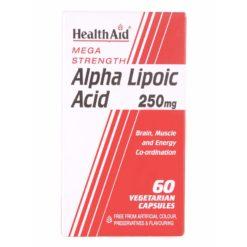 HealthAid Alpha Lipoic Acid 250mg ( Mega Strength)