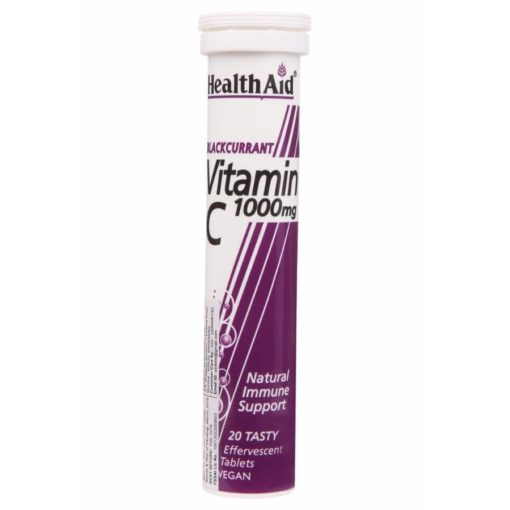 HealthAid Vitamin C 1000mg (Blackcurrant)