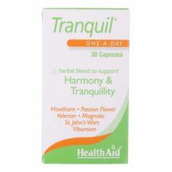 HealthAid Tranquil (Magnolia, Valerian & St John's Wort Complex)