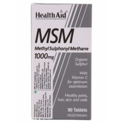 HealthAid MSM 1000mg
