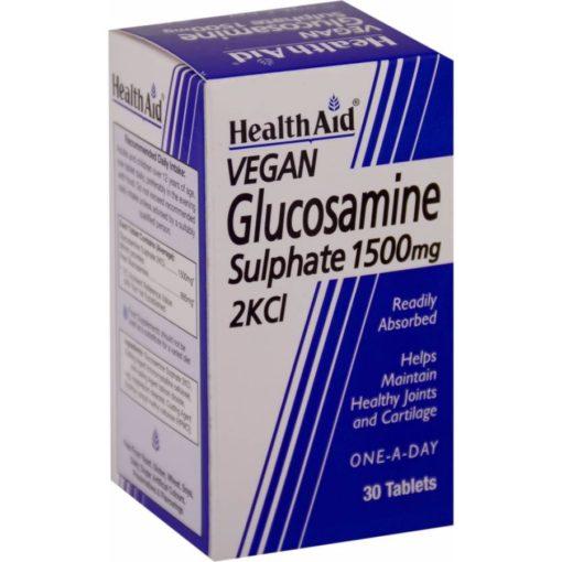 HealthAid Glucosamine Sulphate 2KCI 1500mg
