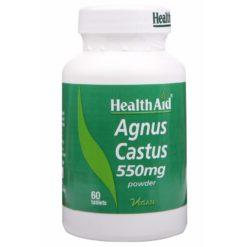 HealthAid Agnus Castus 550mg