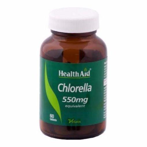 HealthAid Chlorella 550mg