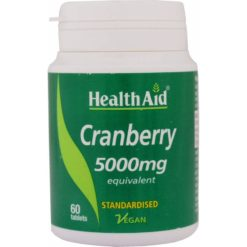 HealthAid Cranberry 5000mg (Equivalent)