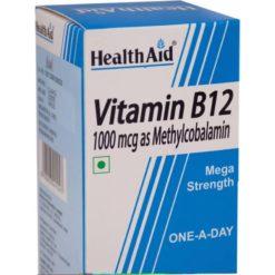 HealthAid Vitamin B12 1000mcg Mega Strength (Methylcobalamin)