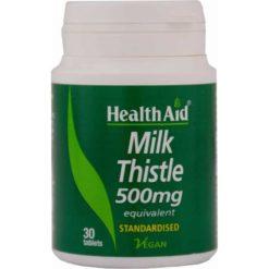 HealthAid Milk Thistle 500mg (Equivalent)