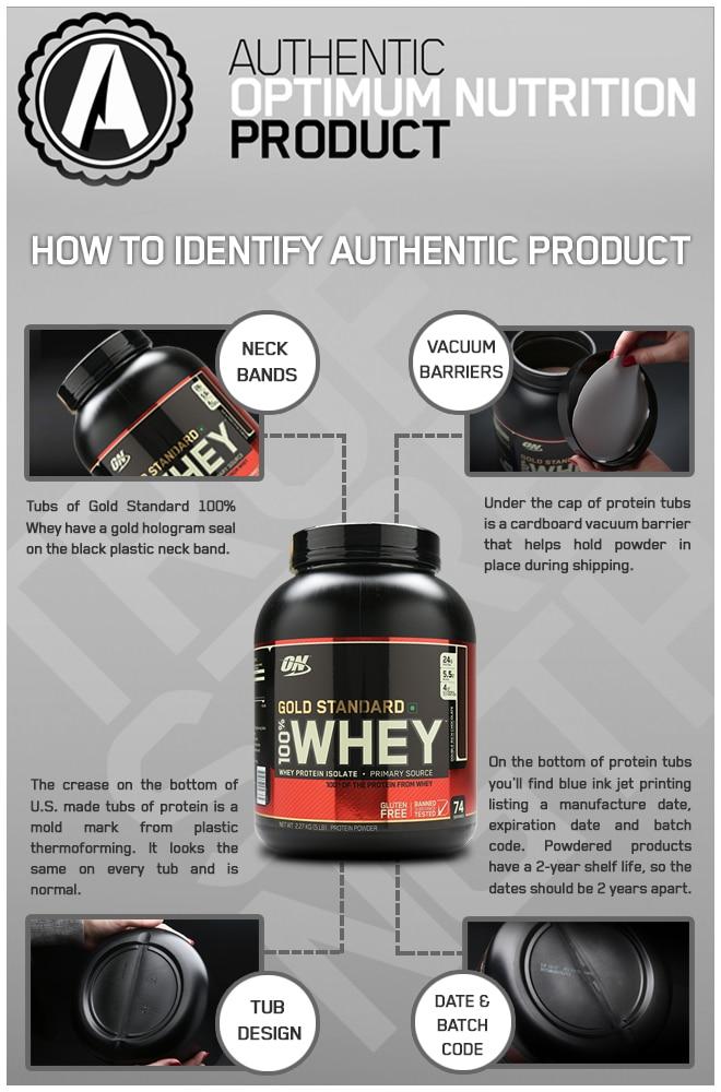 Optimum Nutrition Authentic Vs Fake Comparison Nutrabay Com