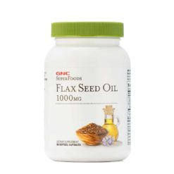 GNC Flaxseed Oil Softgel Cap 1000mg