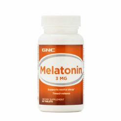 GNC Melatonin 3 mg TR Softgel Cap
