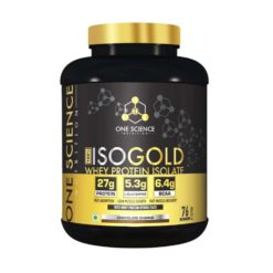 One Science Nutrition 100% ISO Gold Whey Protein Isolate