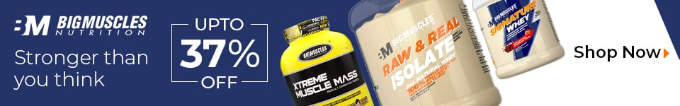 Big Muscles Raw & Real Whey