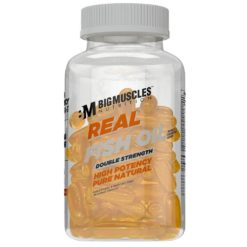 Big Muscles Nutrition Real Fish Oil Double Strenth