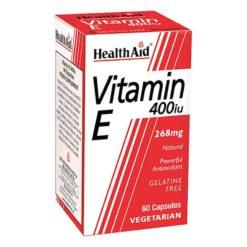 HealthAid Vitamin E 400iu (d-alpha Tocopherol)