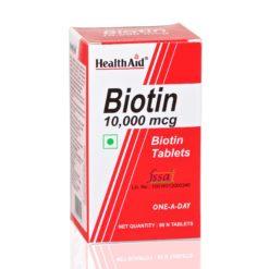 HealthAid Biotin 10000mcg