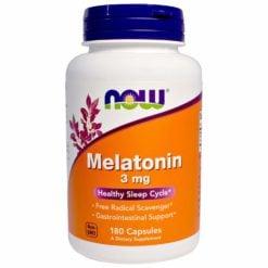 Now Foods Melatonin 3mg