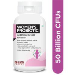 Billion Cheers Women Probiotic and Prebiotic