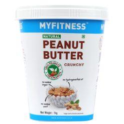 MyFitness Gold Peanut Butter Crunchy