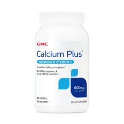 GNC Calcium Plus 600 with Magnesium and Vitamin D3