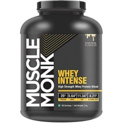 Muscle Monk Whey Intense - High Strength Whey Protein Blend