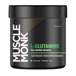 Muscle Monk L-Glutamine - Post-Workout Recovery