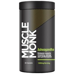 Muscle Monk Ashwagandha - Enhances Muscle Recovery