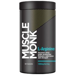 Muscle Monk L-Arginine - Increases Nitric Oxide Production