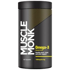 Muscle Monk Omega-3 (Flaxseed Extract) - Healthy Heart, Bone & Joints.
