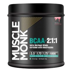 Muscle Monk BCAA 2:1:1 - Intra Workout enriched with Electrolytes