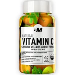 Bigmuscles  Nutrition Natural Vitamin C & Zinc 1000mg