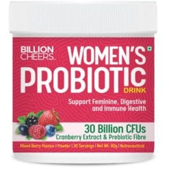 Billion Cheers Women's Probiotic (Ready to Drink Powder, Sugar Free)