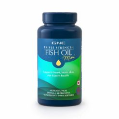 GNC Triple Strength Fish Oil Mini SoftGels