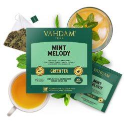 VAHDAM TEAS Mint Melody Green Tea