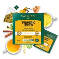 VAHDAM TEAS Turmeric Spiced Herbal Tea Tisane