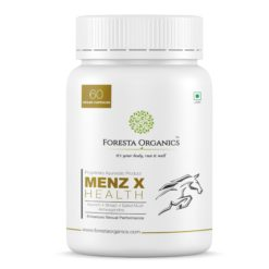Foresta Organics Menz-X Health with Shilajit, Ashwagandha, Kaunch & Safed Musli