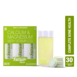 Fast&Up Fortify with Calcium, Vitamin D3, K, C (3 Tubes)