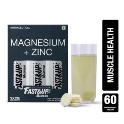 Fast&Up Magnesio with Magnesium and Zinc (3 Tubes)