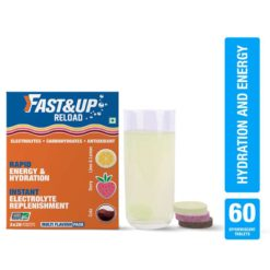 Fast&Up Reload (Electrolytes) for Instant Energy & Hydration Sports Drink (Assorted 3 Tubes)