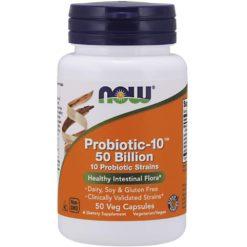 Now Foods Probiotic-10 50 Billion