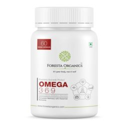 Foresta Organics Omega 3:6:9 Vegan with Flaxseed and Safflower Extract