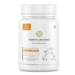 Foresta Organics Immune Health with Tulsi, Amla, Curcumin (Turmeric Extract) & Giloy