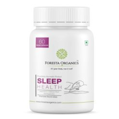 Foresta Organics Sleep Health with Ashwagandha, Jatamansi & Tagar (Indian Valerian Root)