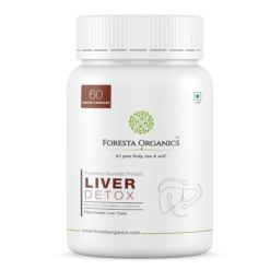 Foresta Organics Liver Detox with Milk Thistle Extract (Silymarin), Dandelion & Multi-Vitamins