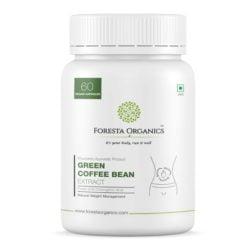 Foresta Organics Green Coffee Bean Extract with Finest 50% Chlorogenic Acid (CGA)