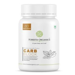 Foresta Organics Carb Block with White Kidney Bean Extract