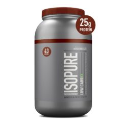 Isopure Low Carb 100% Whey Protein Isolate Powder