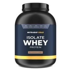 Nutrabay Gold 100% Whey Protein Isolate