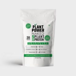 Plant Power 100% Naked Plant-based Soy Protein Isolate