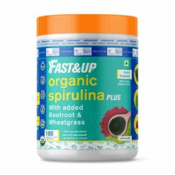 Fast & Up Organic Spirulina plus Wheatgrass and Beetroot