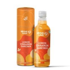 Akiva Lemon Cinnamon Garcinia Juice (Concentrated)
